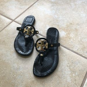 Tory Burch Shoes - Tory burch miller size 8 1/2 black sandal